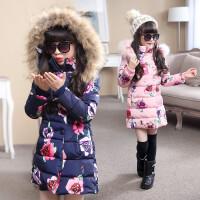女童冬装棉衣外套儿童衣服