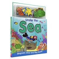 Magnetic Story And Play Under The Sea 磁贴故事书系列 海底世界 儿童互动英语启蒙
