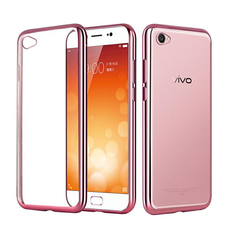 vivox9s手机壳 x9s手机套 保护壳 保护套 手机保护壳 手机保护套 外壳 后壳 软壳 电镀壳 电镀TPU软套