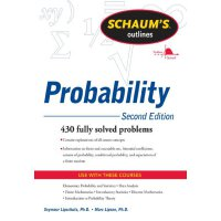 英文原版 概率论,*版 Schaum's Outline of Probability, Second Edition