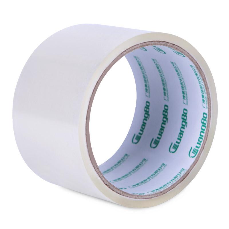 广博(GuangBo)透明胶带卷60mm*30y封箱宽胶布办公用品FX-2