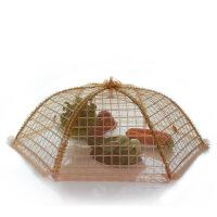 【支持礼品卡支付】饭菜罩折叠食物罩餐桌罩碗罩子圆形饭罩大号盖菜罩防苍蝇罩