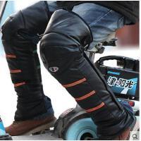 护膝保暖男士骑行护膝防风加厚摩托车护裹腿电动车护膝