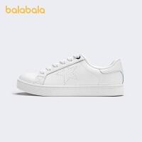【3件5折价:85】巴拉巴拉小白鞋男童春秋款儿童板鞋男中大童时尚百搭童鞋