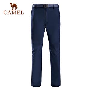 camel骆驼户外速干长裤 男女款轻薄快干耐磨透气徒步登山