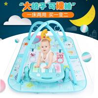 婴儿健身架器脚踏钢琴音乐毯8新生宝宝玩具女男孩0-1岁3-6-12个月