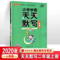 pass绿卡图书 2020小学学霸天天默写-二年级下册(部编人教版)