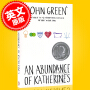 现货 英文原版 ABUNDANCE OF KATHERINES 那么多个凯瑟琳