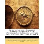 【预订】Report of the Royal Commission Appointed to Inquire Int