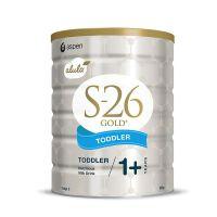 【两罐装】新西兰S26惠氏金装婴幼儿配方牛奶粉3段(1-3周岁宝宝) 900g*2 (产地:澳大利亚) 保税区直发