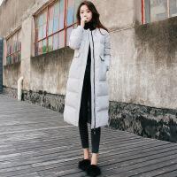 中长款棉衣女2018冬季新款羽绒韩版棉袄面包服加厚修身外套女