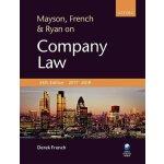 【预订】Mayson, French & Ryan on Company Law 9780198797234