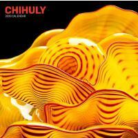 英文原版 戴尔・奇胡利的玻璃雕塑作品 2020年挂历 新年艺术日历 Chihuly 2020 Wall Calenda