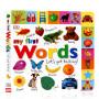 DK出版 My First Words Let's Get Talking 启蒙学说话 低幼儿童亲子趣味认知纸板书 0-3-6岁 进口英文原版绘本