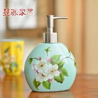 墨菲 新中式陶瓷卫浴瓶卫生间洗手液瓶浴室创意洗漱用品液体瓶