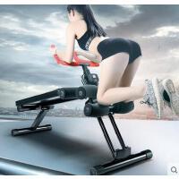 可折叠合二为一健腹器仰卧板懒人收腹机家用健身器材腹肌训练器健腹轮 可礼品卡支付