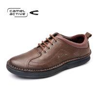 Camel Active/骆驼动感手工时尚皮鞋男真皮英伦男鞋青年潮流鞋子