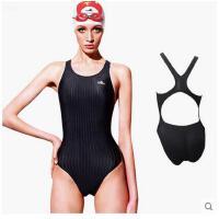 泳衣女连体衣成人儿童 无胸垫三角性感运动比赛训练游泳 可礼品卡支付