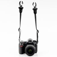 双肩背包外挂背带 相机背带配件 弹性减压相机背带 肩带转接配件 +