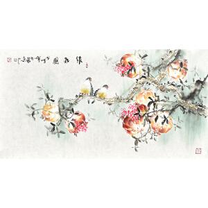 多福清气图gh04211