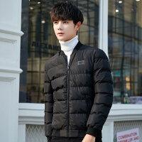 棉衣男冬季2018新款棉袄冬天外套加厚冬装短款连帽男士羽绒潮