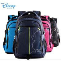 热销 正品迪士尼小学生双肩书包 初中帆布休闲包儿童书包
