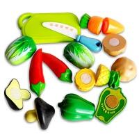维莱 儿童仿真过家家套装 女孩切切乐切水果蔬菜厨房餐具做饭 凯东繁288A4