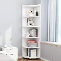 【1件3折 领券】书架简易落地格子多层柜子实木创意收纳柜书柜家用学生卧室置物架