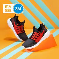 【1件2.5折到手价:64.8】361度童鞋男女童鞋子网面跑鞋中大童休闲鞋儿童运动鞋 /大学红