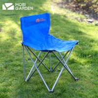 牧高笛户外公园露营靠背椅折叠椅便携椅子沙滩椅钓鱼椅零动