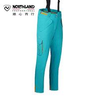 【品牌特惠】诺诗兰NORTHLAND冬季户外滑雪裤男防水保暖滑板背带裤 GK055823