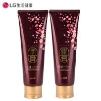 【圣诞大促】[2只装] 韩国LG 润膏无硅油洗发水洗护二合一 250ml