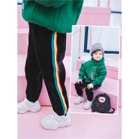 宝宝裤子男1-3岁男童冬装儿童休闲裤秋冬男宝宝
