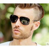 简约大方精致防晒眼镜复古墨镜开车驾驶眼镜男士大框偏光太阳镜