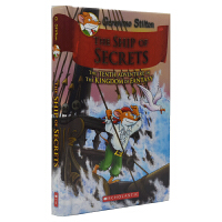 Geronimo Stilton The Ship of Secrets #10 老鼠记者幻想王国系列桥梁书 秘密之船