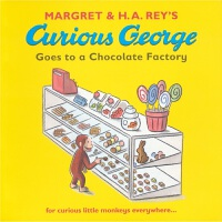 Curious George Goes to a Chocolate Factory 好奇的乔治去巧克力工厂 乔治猴 英