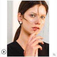 韩国气质网红时尚大气耳钉新款潮高级感耳饰女夸张大牌耳环