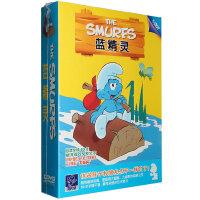 动画片 蓝精灵5DVD全集经典动画卡通片光盘
