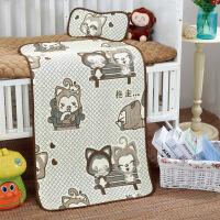 冰丝新生儿宝宝凉席婴儿床凉席儿童凉席幼儿园