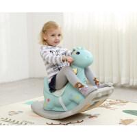 宝宝摇摇马塑料大号加厚婴儿1-2周岁带音乐马车儿童木马摇马玩具