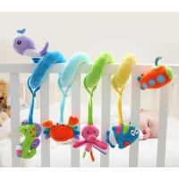 婴儿海洋床绕新生儿安抚床挂玩偶可拆卸可作摇铃车挂