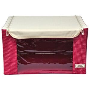 [当当自营]LOCK&LOCK乐扣乐扣 透明视窗收纳箱(55L)收纳盒整理箱