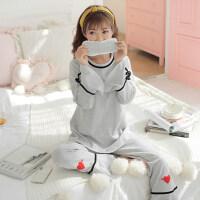 月子服春夏季孕妇睡衣外出纯棉产后产妇哺乳韩版家居服春秋喂奶衣