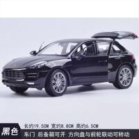 儿童仿真汽车模型保时捷Macan原厂合金车模 1:24