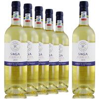 法国原瓶原装进口 拉菲传说波尔多2014年干白葡萄酒 750ml*6整箱
