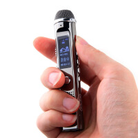 【全国包邮+送原装充电器】京华pcm-1专业录音笔 8g记者采访降噪无损录音