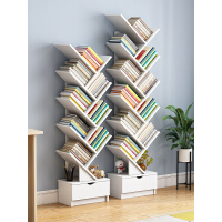 【热销 跨店满99减15】创意树形小书架置物架学生简约家用小型简易桌面收纳整理书架