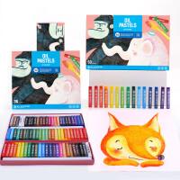 儿童油画棒彩色画笔套装可水洗宝宝油画笔涂鸦笔蜡笔小学生开学24色36色幼儿园水溶性油画棒