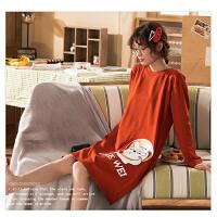 【NJR&秋冬新品】南极人睡衣女士家居服睡裙可外穿棉质舒适透气KH6223