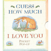 Guess How Much I Love You Pocket Pop 猜猜我有多爱你(口袋立体书) ISBN978